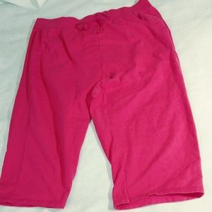 c6783dc5695 JMS Women 3x Pink Walking Cropped Pant